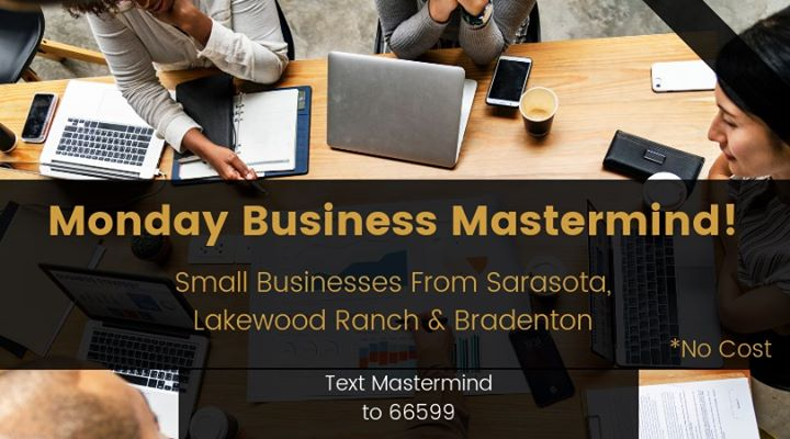 Business Monday Mastermind (Free for small local businesses)